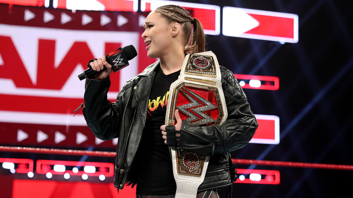"Raw Women's Champion Ronda Rousey doesn't care about what the ""bandwagon fans"" think."