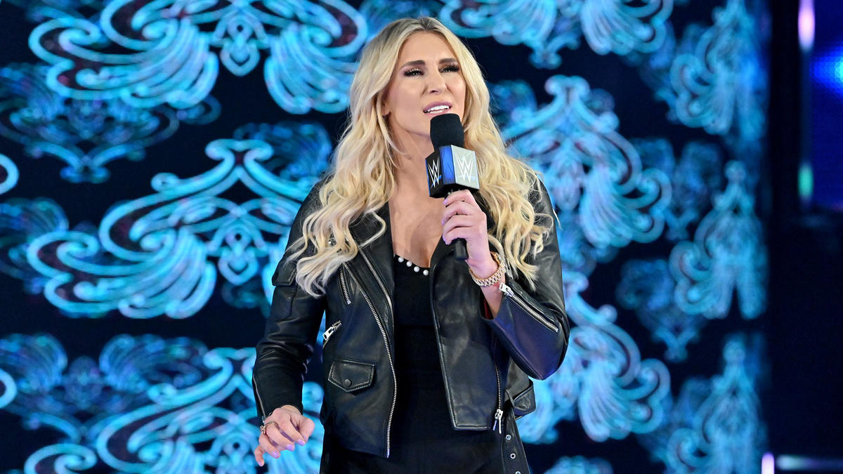 Suddenly, Charlotte Flair interrupts her rival and claims the main event of WrestleMania belongs to her.