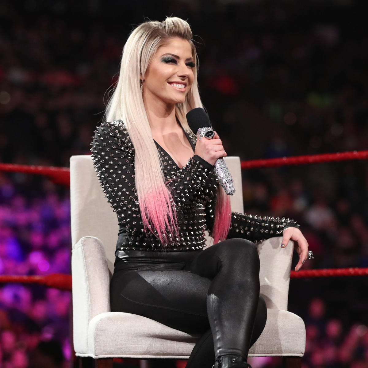 She says WrestleMania has been getting better and better ever since she was named the host.