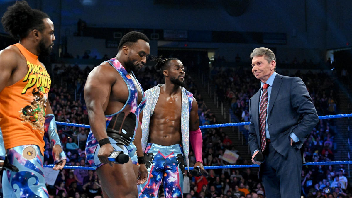 """The WWE Universe demands that Kofi Kingston be given the opportunity to compete for the WWE Championship!"" Big E says."