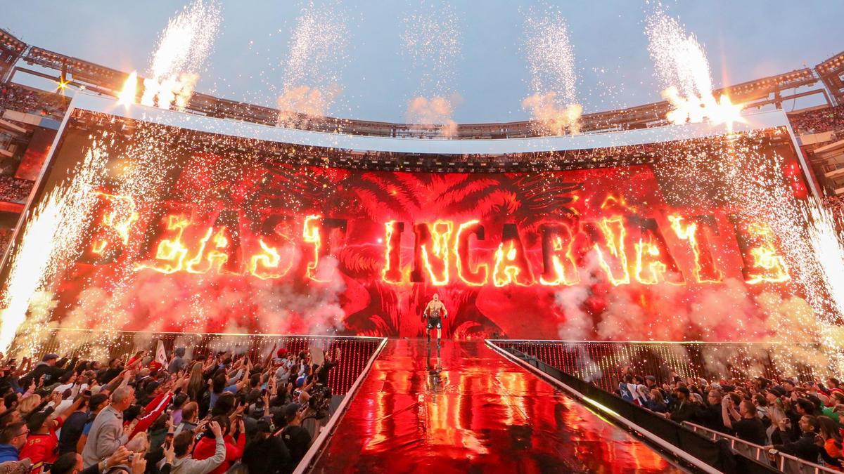 Brock Lesnar, WWE Pay Per View