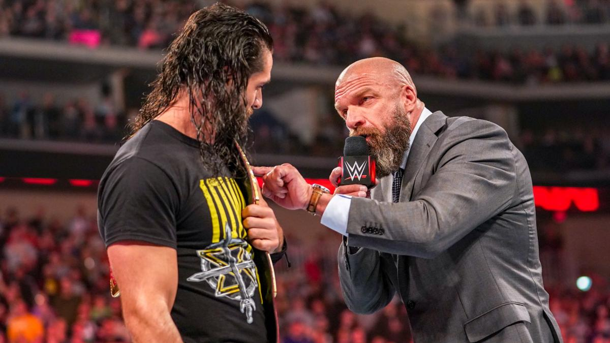 Triple H says everyone is gunning for Rollins…