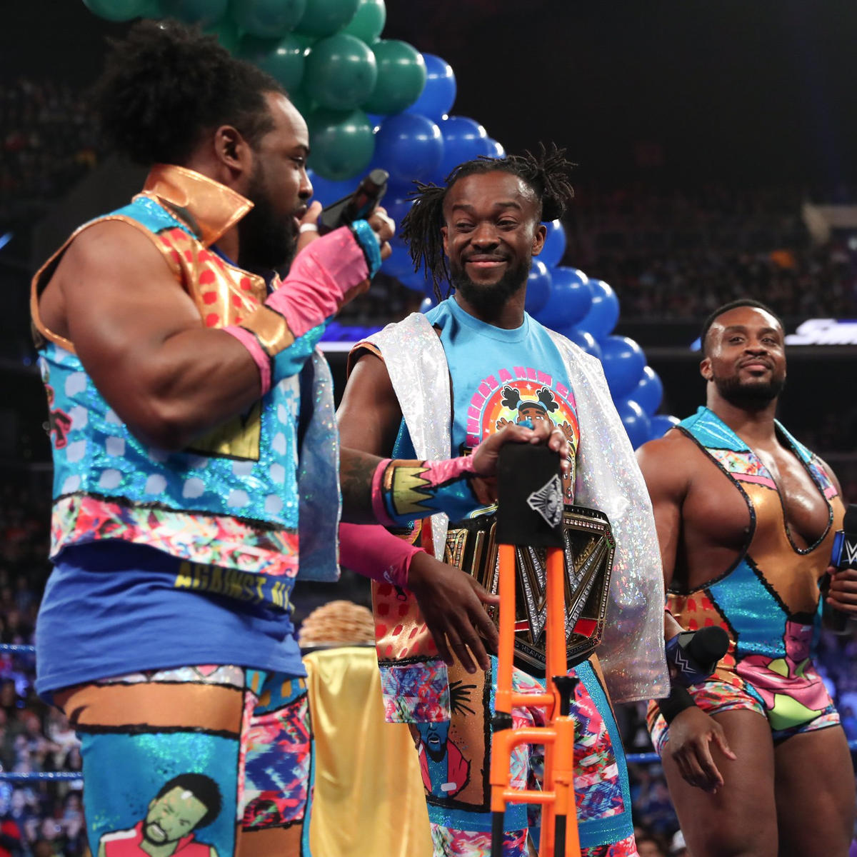 Xavier Woods says it was like meeting one of his heroes when he met Kofi.