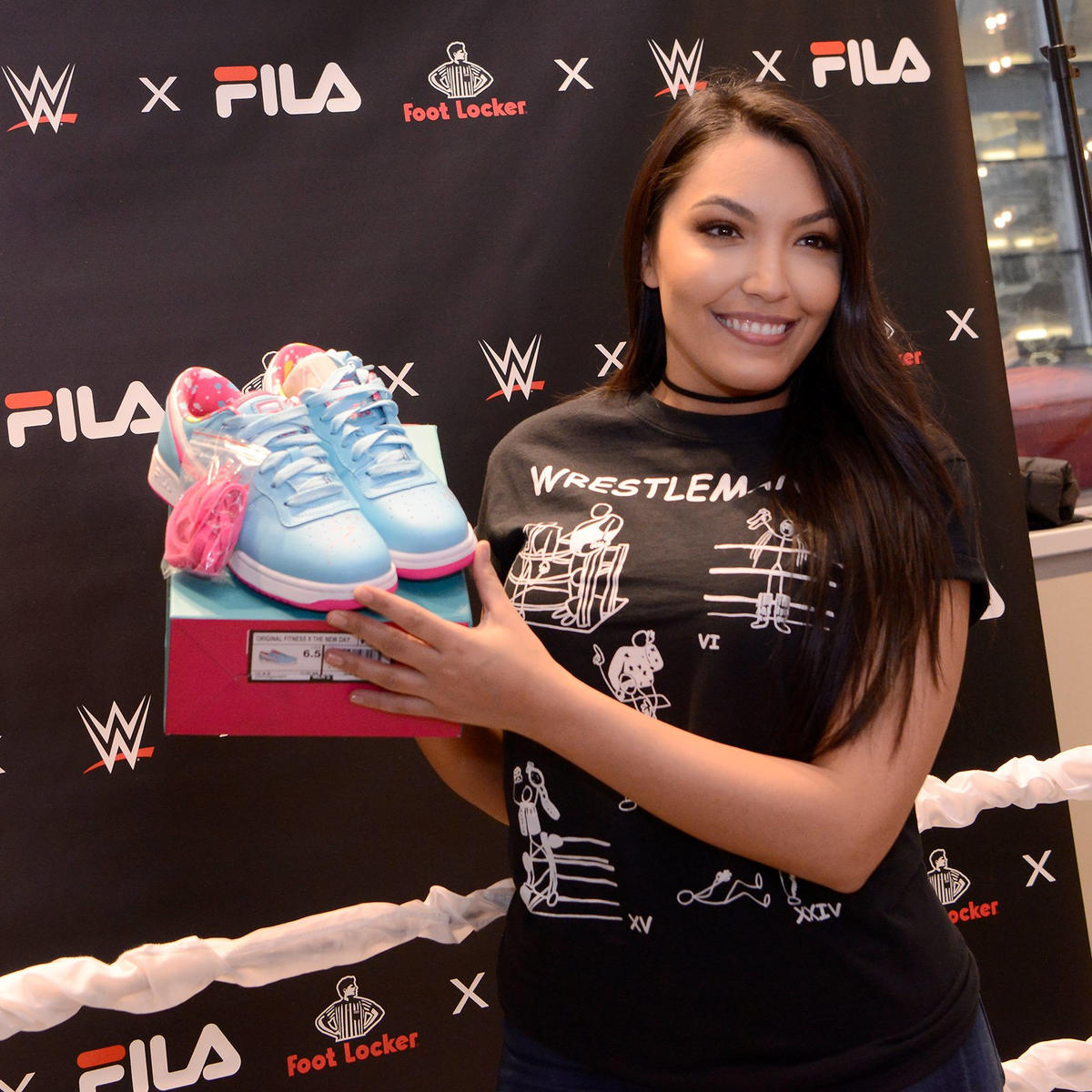 limited edition WWE x FILA collab