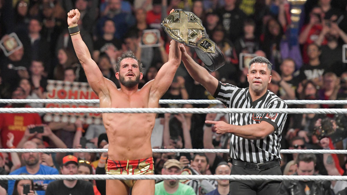 After forcing Cole to tap to the Gargano Escape, Johnny Wrestling is the new NXT Champion!