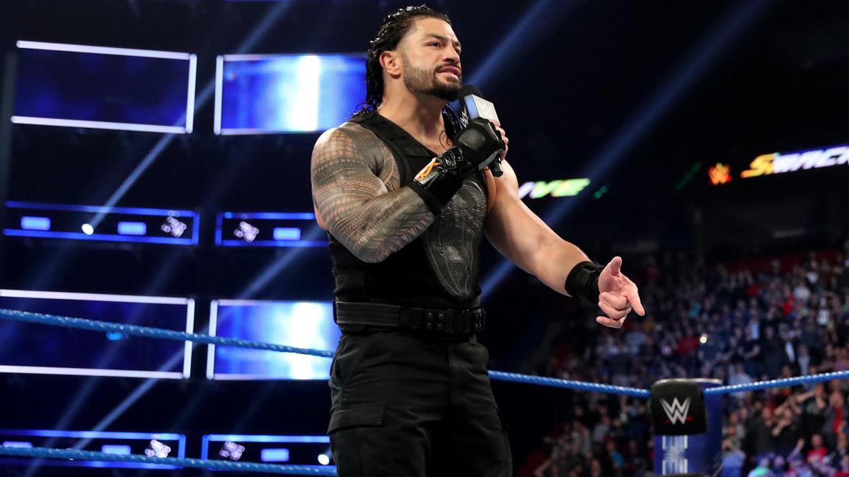 """""""¡SmackDown LIVE es mi jardín ahora!"""", Dice Reigns."""