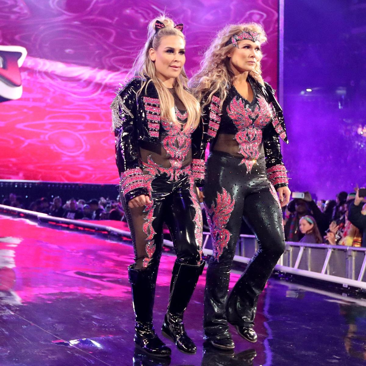 Image result for Natalya and Beth Phoenix Wrestlemania 35