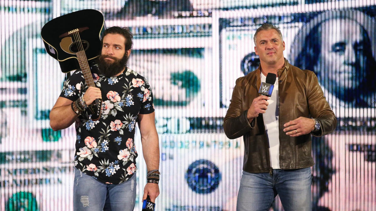 Suddenly, Shane McMahon and Elias interrupt!