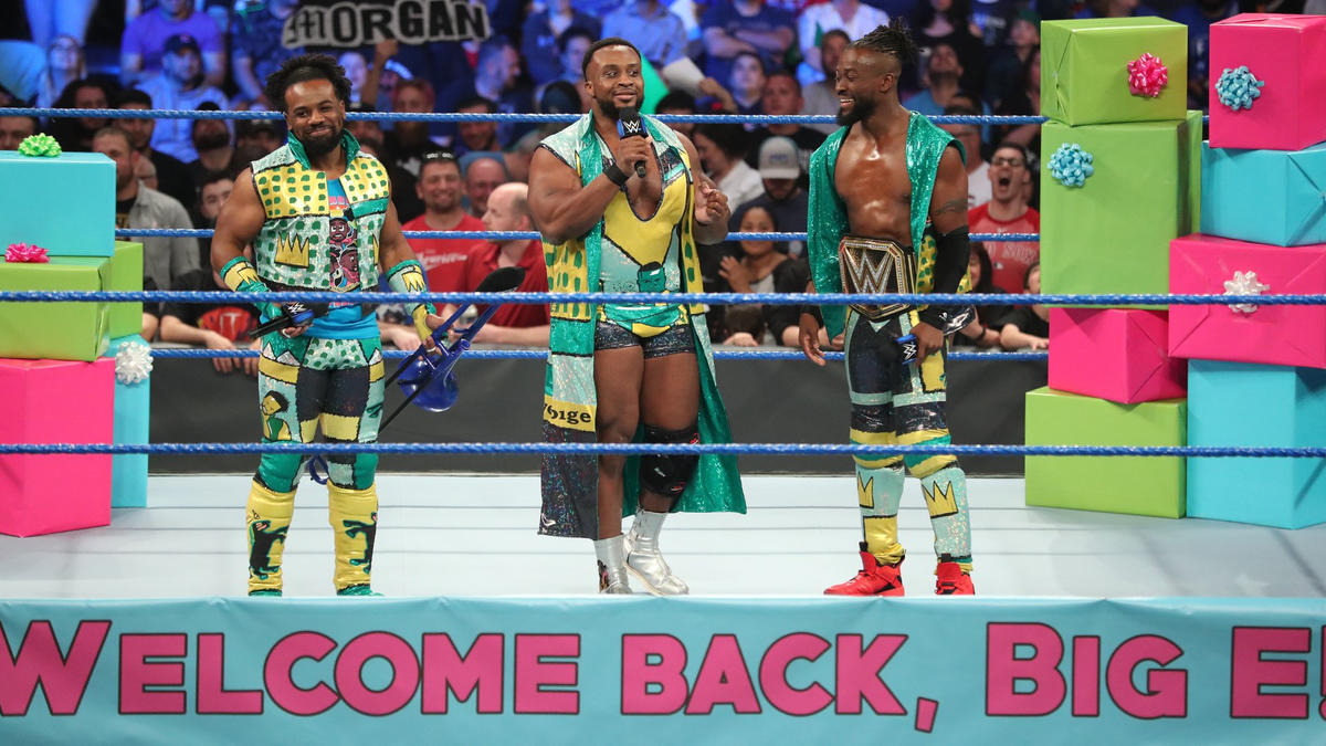 Big E is beyond ecstatic to be back in front of the WWE Universe.