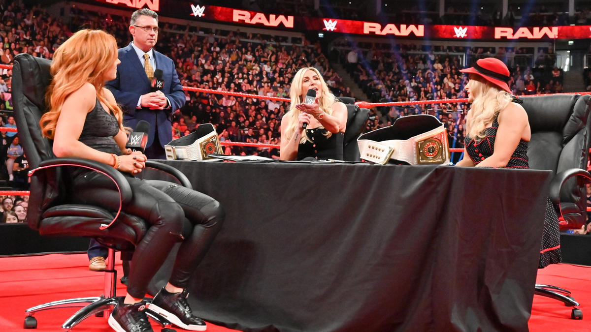Charlotte claims it's the same big mouth of Becky's that got her in trouble in the first place because she's in a situation that she can't win.