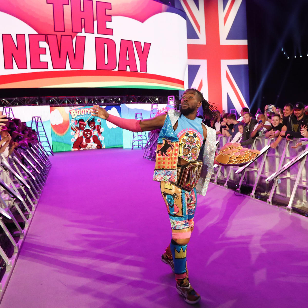 "WWE Champion Kofi Kingston accepts his invite to ""The Kevin Owens Show"" and hits the scene in London!"