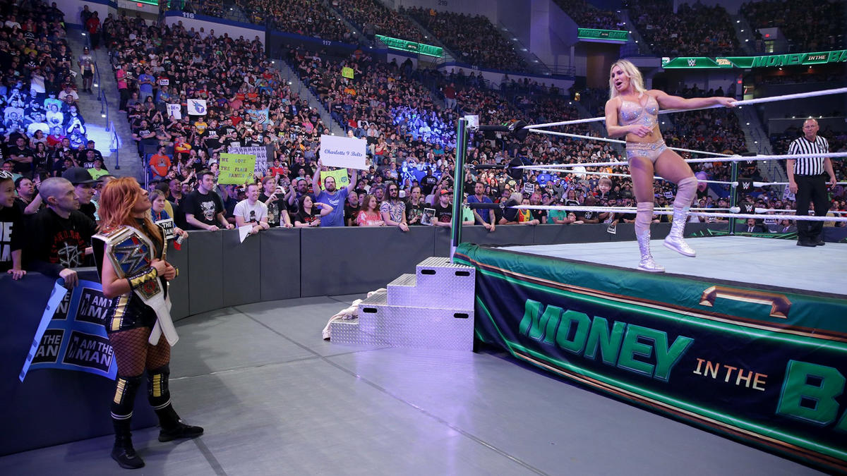 Becky Lynch vs. Charlotte Flair – SmackDown Women's Championship ...