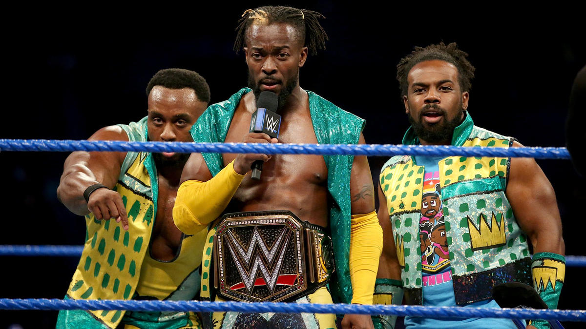 Kofi wonders if Ziggler has forgotten where this WWE Title began: inside of a different cage, the Elimination Chamber.