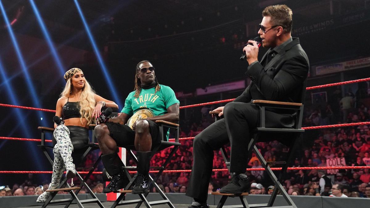 Raw 24/7 Champion R-Truth & Carmella!