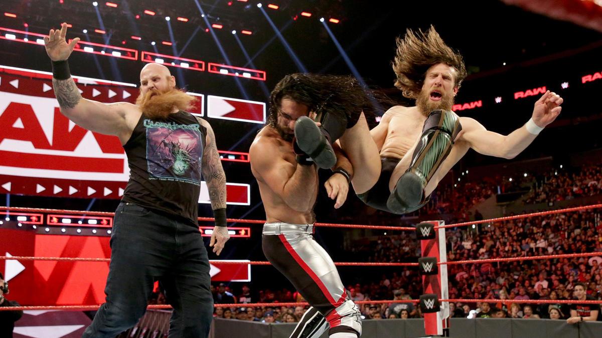 Rollins vs. Bryan Raw
