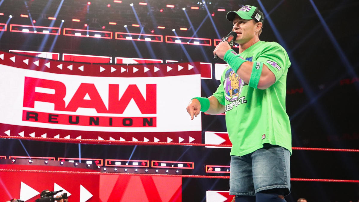 """""""I'm just like you guys; I could not miss this,"""" Cena says. """"And this is my home. Always has been; always will be."""""""
