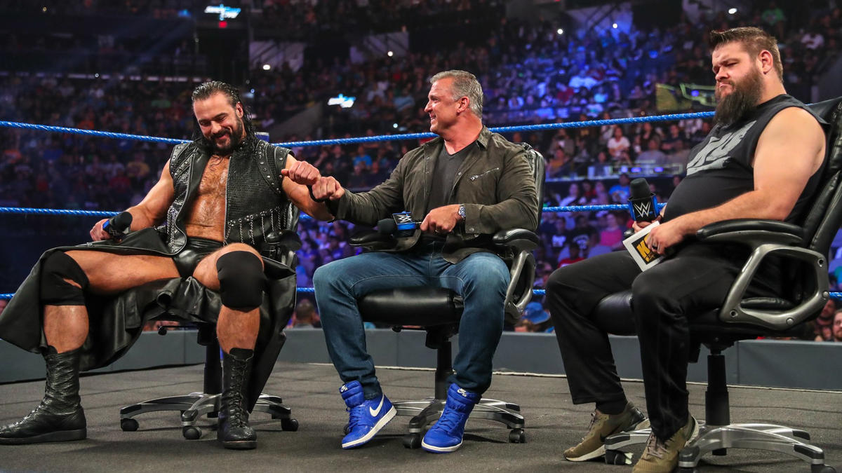 KO thinks Shane might be afraid of The Undertaker.