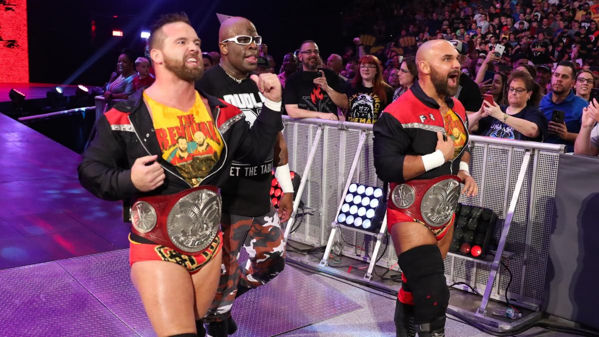 And D-Von Dudley is with them!