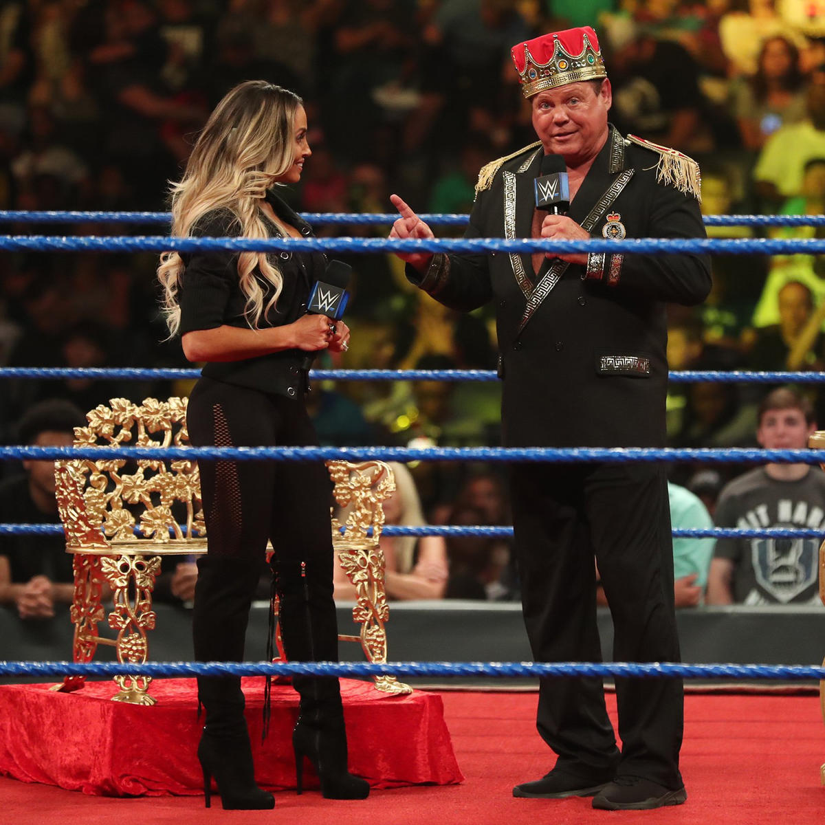 """The WWE Universe chants """"one more match,"""" and Trish doesn't think there will ever be a time where she doesn't have that itch, but she knows she has her mom duties."""