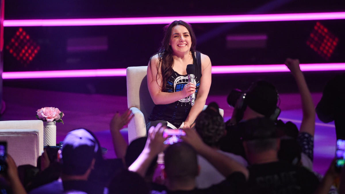 "Nikki Cross hits the scene to host ""A Moment of Bliss"" for the first time."
