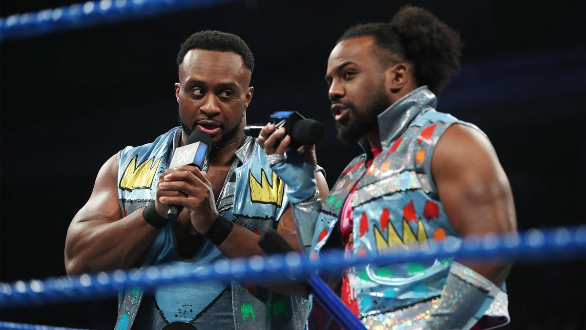 Xavier Woods reminds everyone that he has a Triple Threat Match tonight, and New Day have a Triple Threat title match this Sunday.