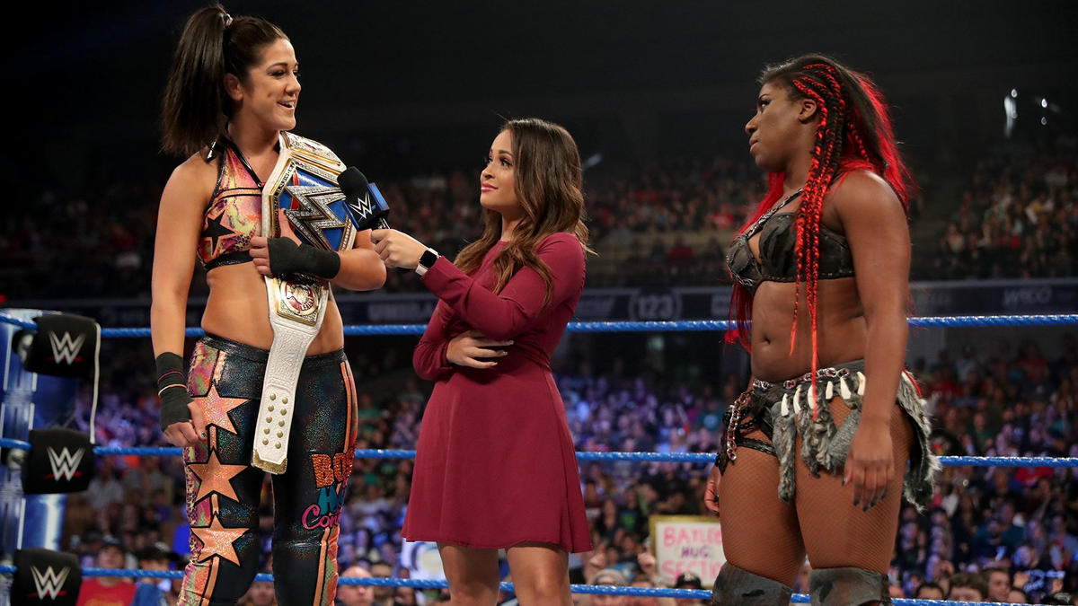 Bayley wants to face someone worthy of a title opportunity and someone she has never faced before, and she looks in Moon's direction