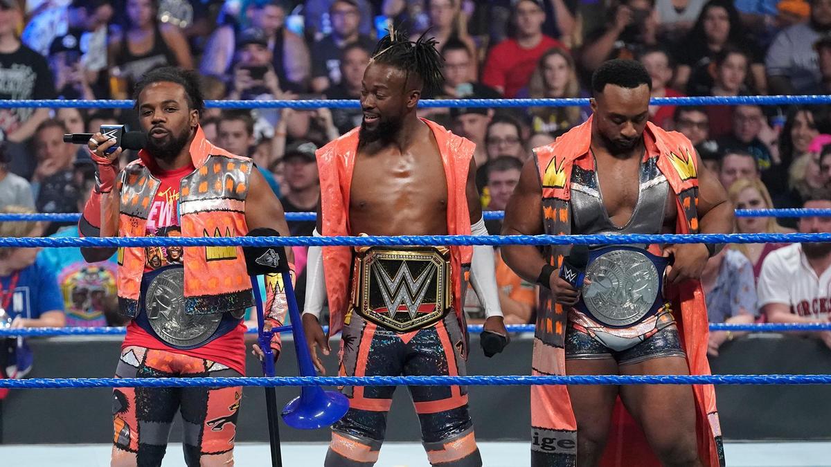 Xavier Woods reminds the WWE Universe of Kofi Kingston's incredible triumph against Samoa Joe.
