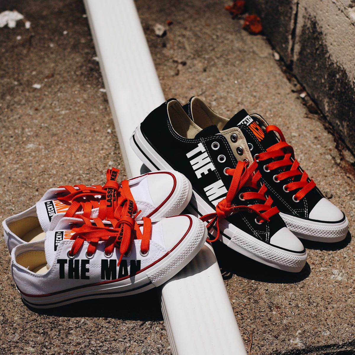 WWE teams with Converse and Foot Locker