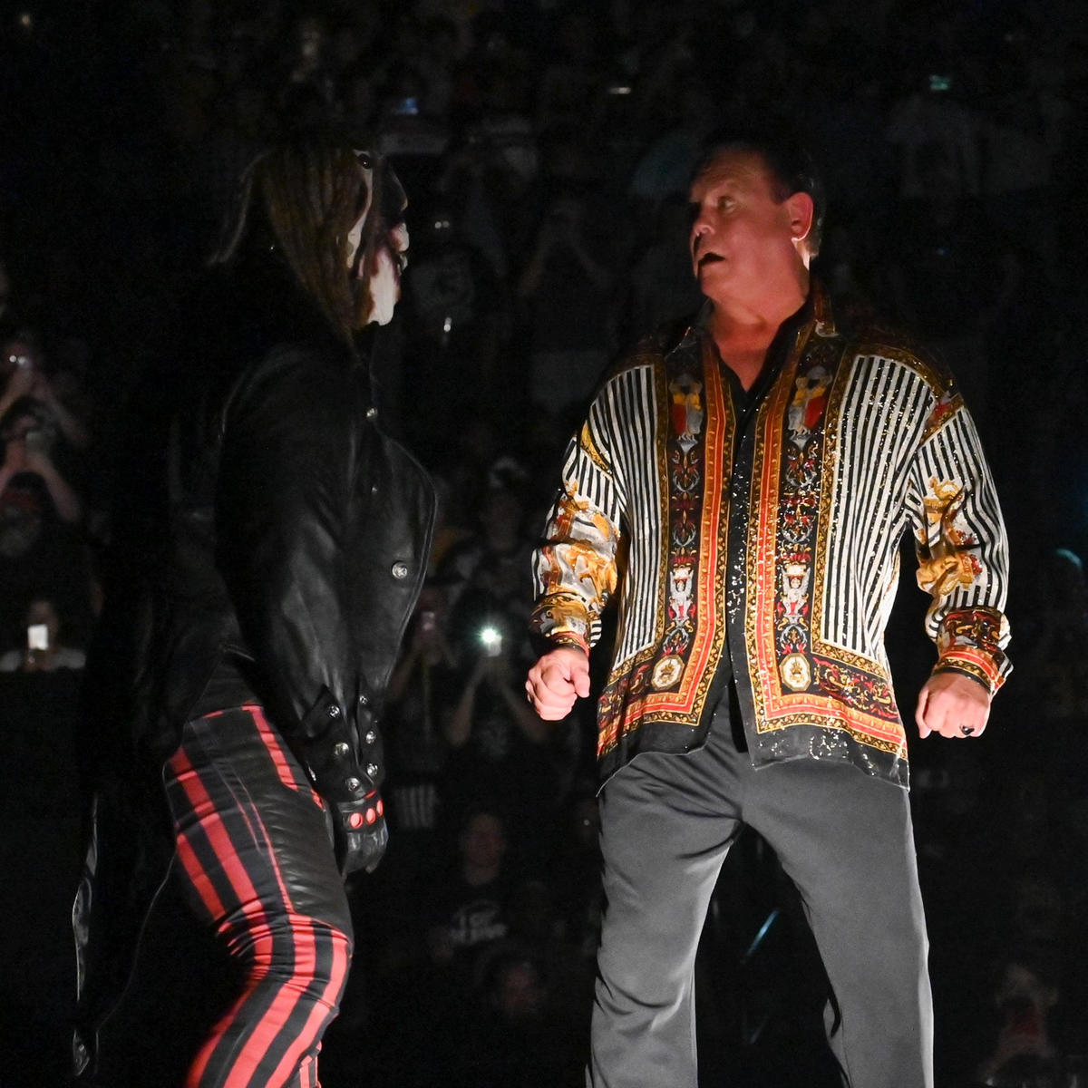 """The Fiend attacks Jerry """"The King"""" Lawler: photos 