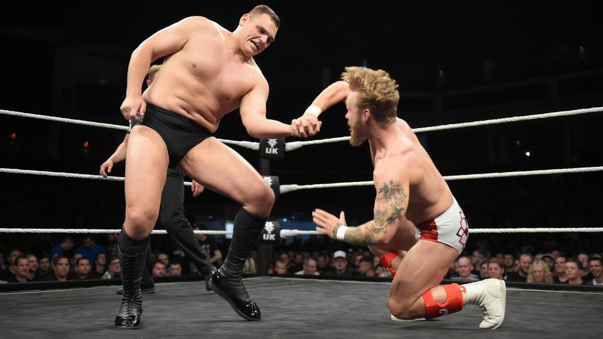 WALTER vs. Tyler Bate -- WWE United Kingdom Title Match: photos | WWE