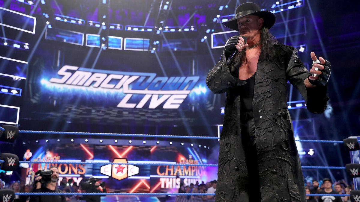 "The Deadman wanted to take a minute to absorb all of this because he's considered ""these hallowed grounds my home."""