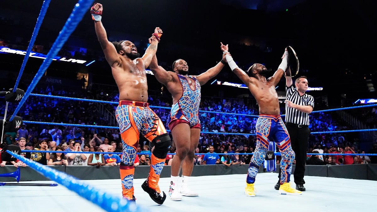 New Day defeat Randy Orton and The Revival!