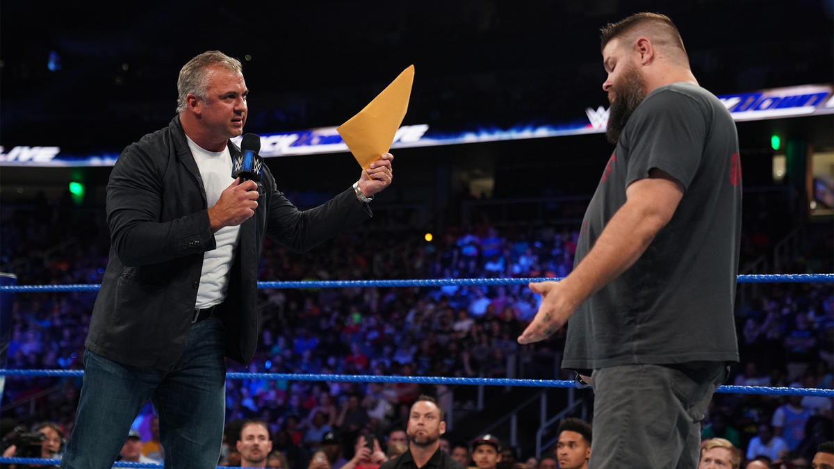 McMahon says he's holding the largest wrongful termination lawsuit in history, wherein Owens would be awarded $25 million if he wins.