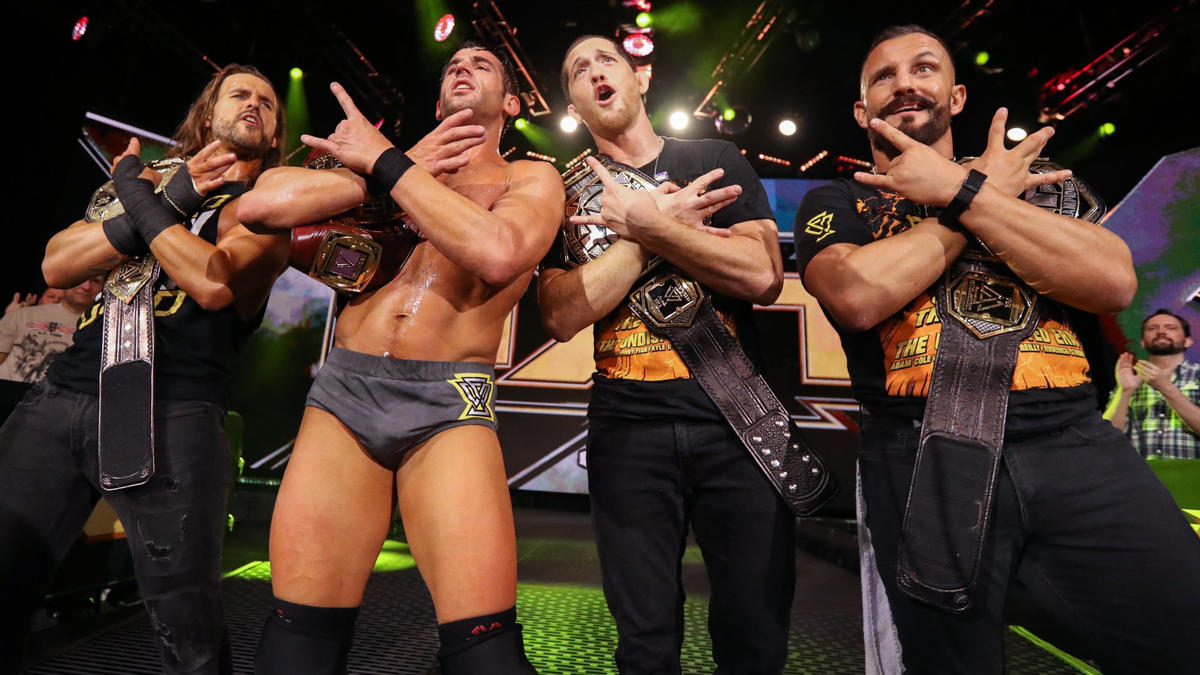 La victoria de Strong cumplió la profecía del campeonato de la Undisputed ERA, poniendo todos los títulos masculinos de NXT en posesión del formidable grupo.