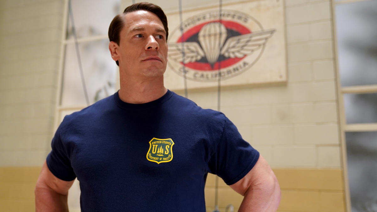 Behind The Scenes Of John Cena S New Movie Playing With