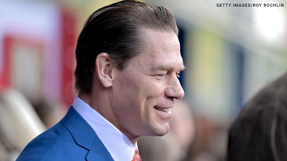 John Cena Hits The Red Carpet For Playing With Fire World