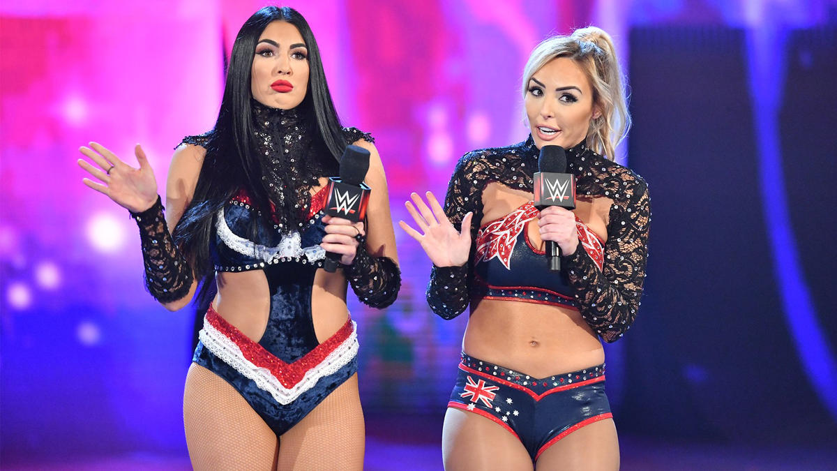 The IIconics Split Up Due To RAW Stipulation, New #1 Contenders Named For Nia Jax And Shayna Baszler