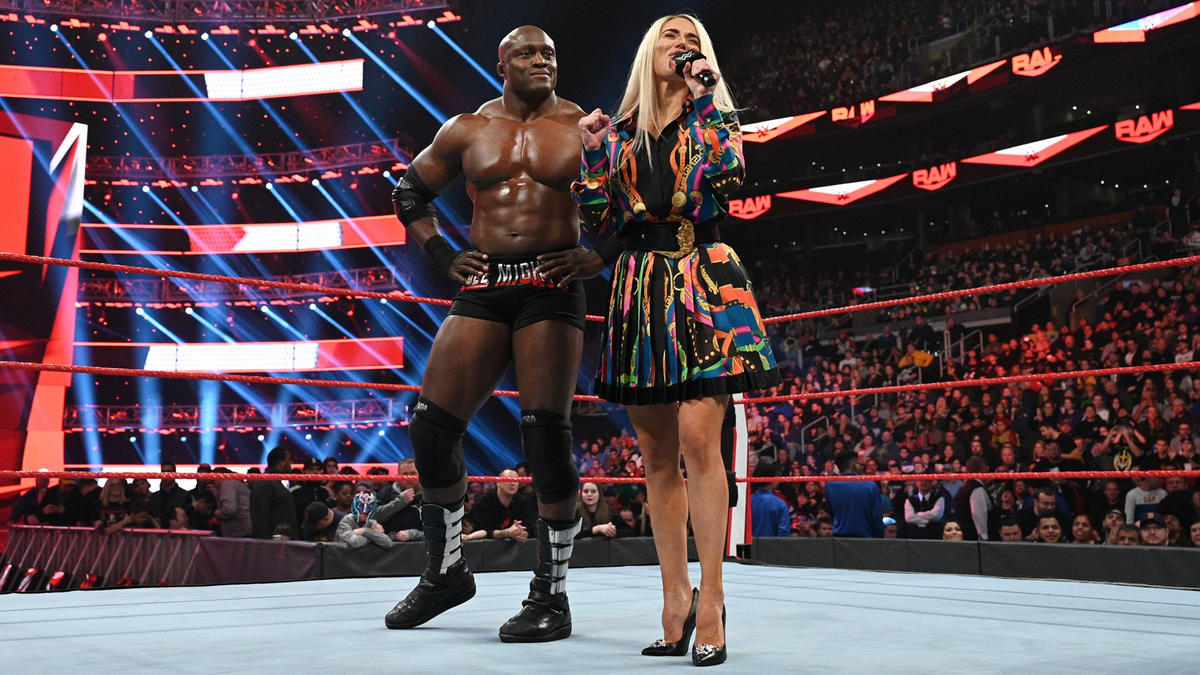 Картинки по запросу WWE Lana and Bobby Lashley