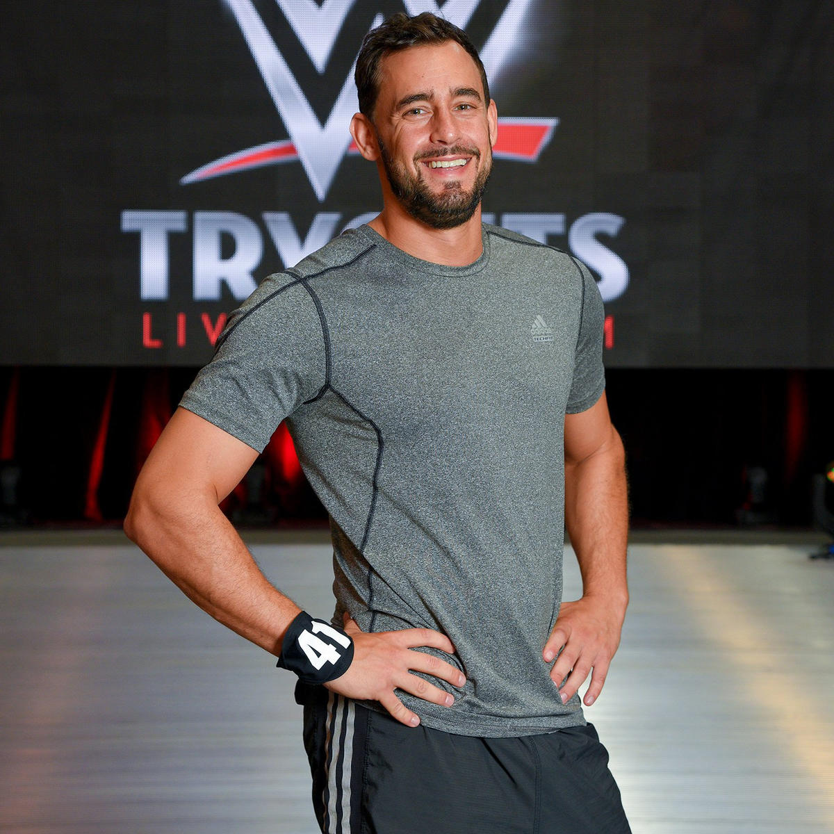 Ariel Levy made the journey from his home country of Chile to tryout at the WWE PC.