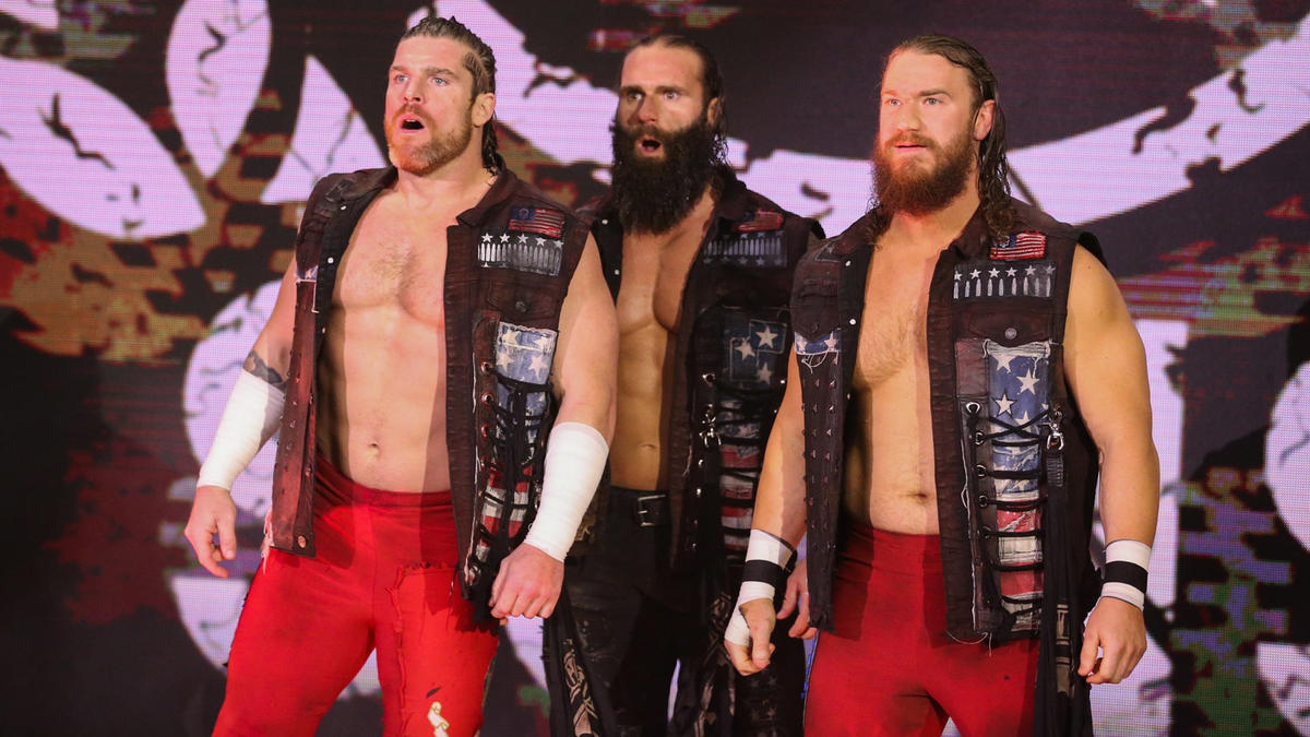 The Forgotten Sons Replaced By Cesaro And Shinsuke Nakamura In Feud With The New Day
