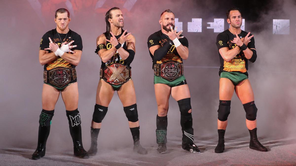 Undisputed ERA deverá permanecer no WWE NXT por mais um tempo
