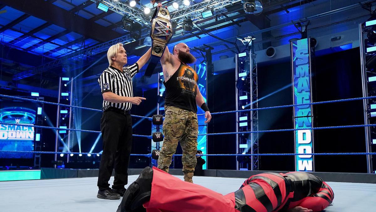 WWE Smackdown Results (10/04/20): Braun Strowman; Wrestlemania Rematch 3