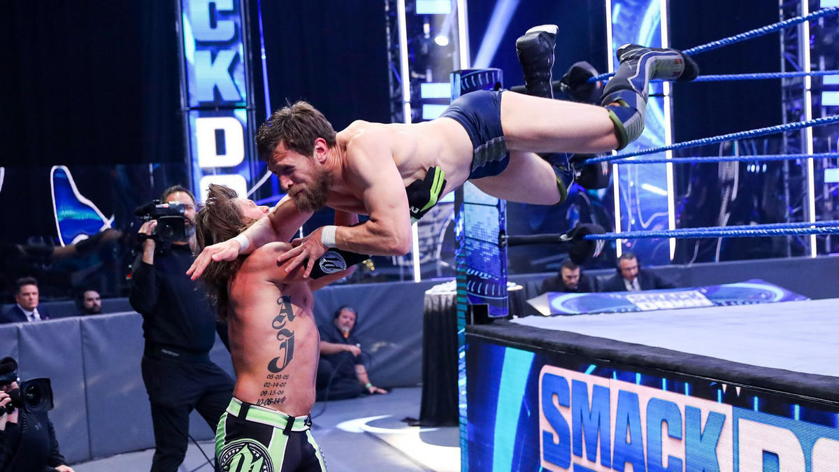 AJ Styles Becomes New Intercontinental Champion On WWE Smackdown 1