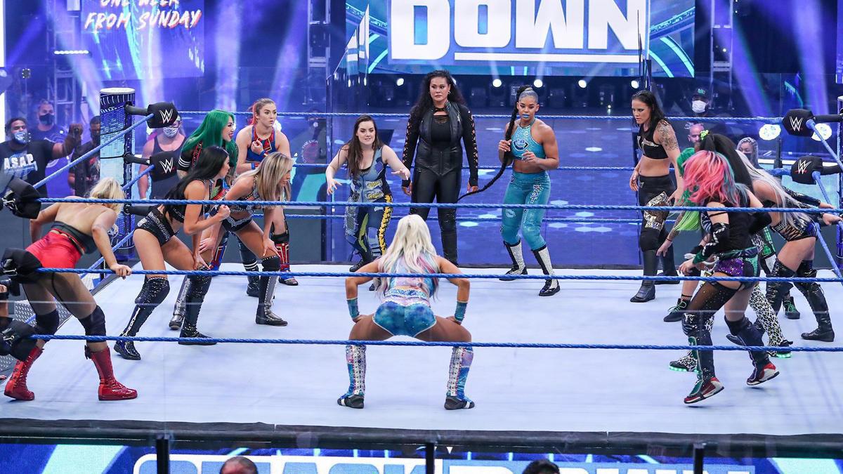 WWE Smackdown Results (14/08/20): Fiend-Strowman; Battle Royal; Alexa Bliss 2