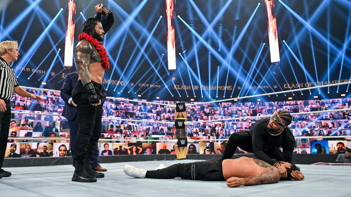 Major Match For Roman Reigns Canceled At WWE Hell In A Cell 2021 121