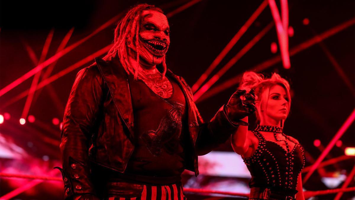 The Fiend Bray Wyatt Destroys RETRIBUTION On WWE Raw 2