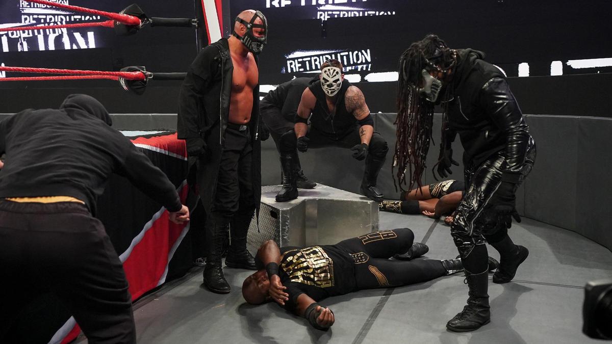 RETRIBUTION - Mustafa Ali Declared Faction Leader On WWE Raw 2