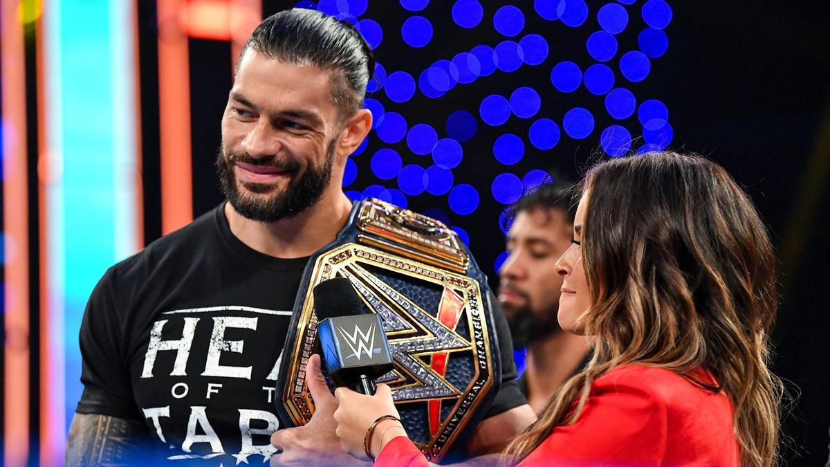 WWE Smackdown Results (04/12/20): Roman Reigns; Murphy vs Corbin 106