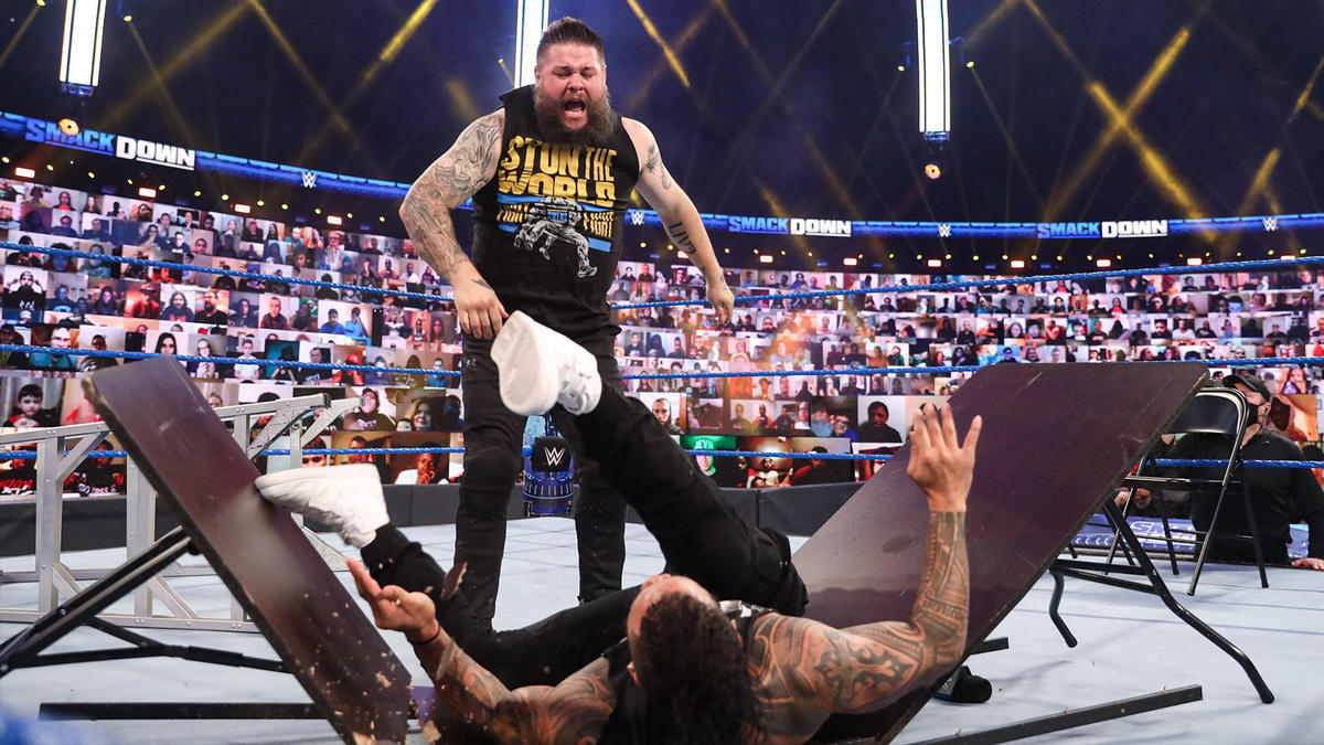 Kevin Owens Does Not Fear Roman Reigns