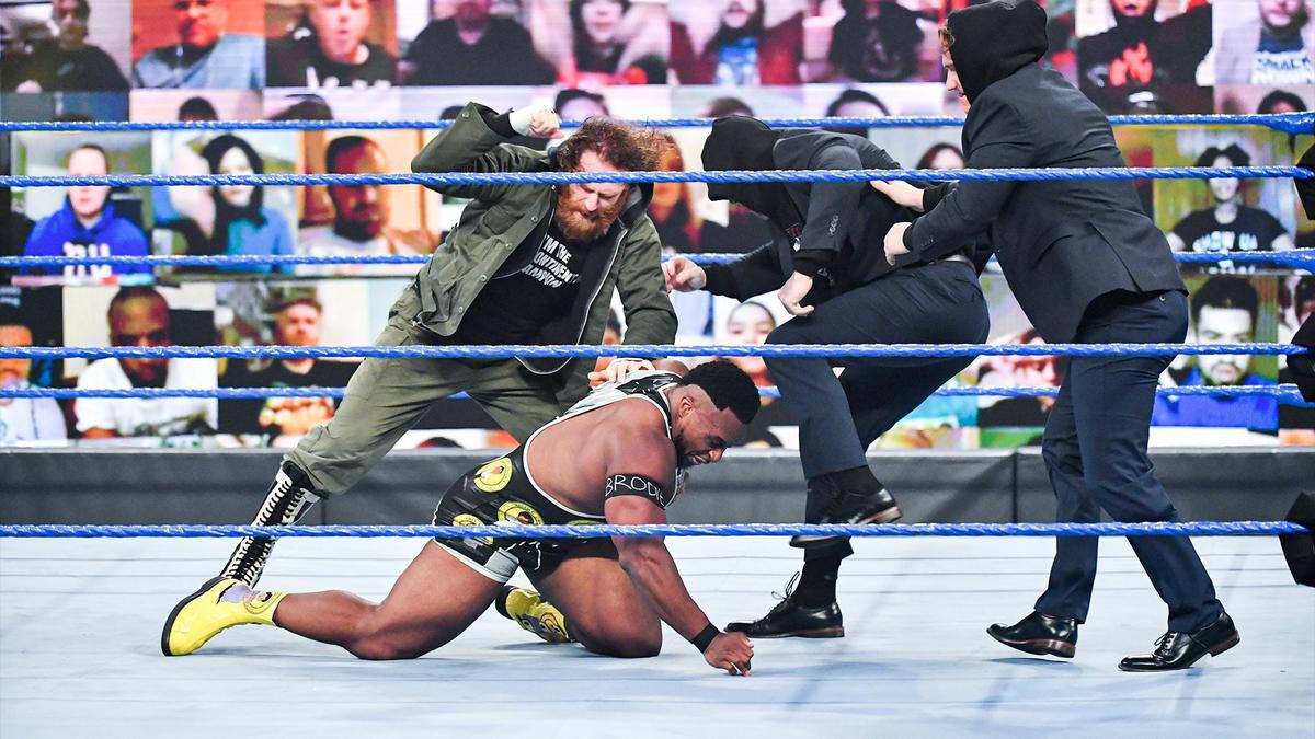 Sami Zayn orchestrated an ambush to Big E on WWE SmackDown